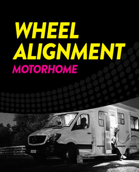 Wheel Alignment - Motorhome